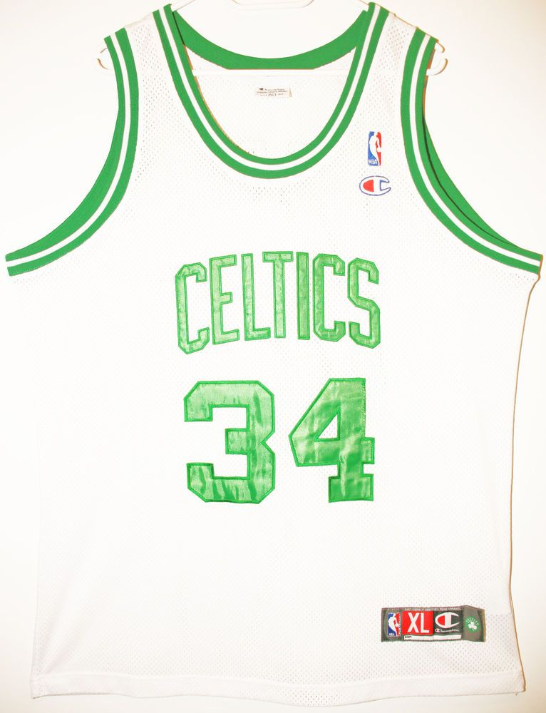 finest selection 96979 d1e1a Champion NBA Basketball Boston Celtics #34 Paul Pierce ...