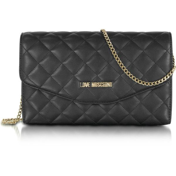 Black handbags · Love Moschino Handbags Evening Quilted Eco Leather  Crossbody ...