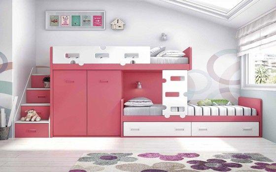 Dormitorio Juvenil Litera Y Tren Dormitorio Pinterest