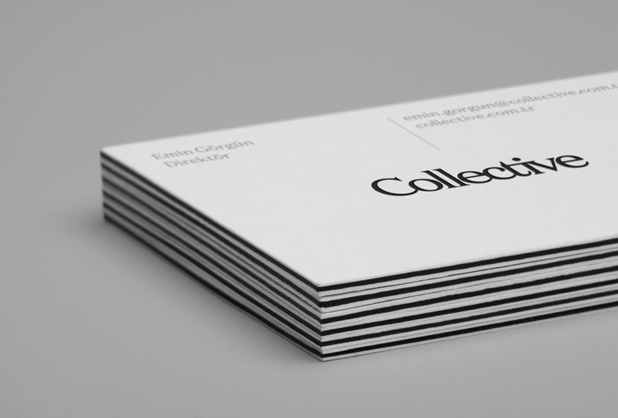 New Logo For Collective By Hey Bp O Free Business Card Templates Business Card Design Business Cards Creative