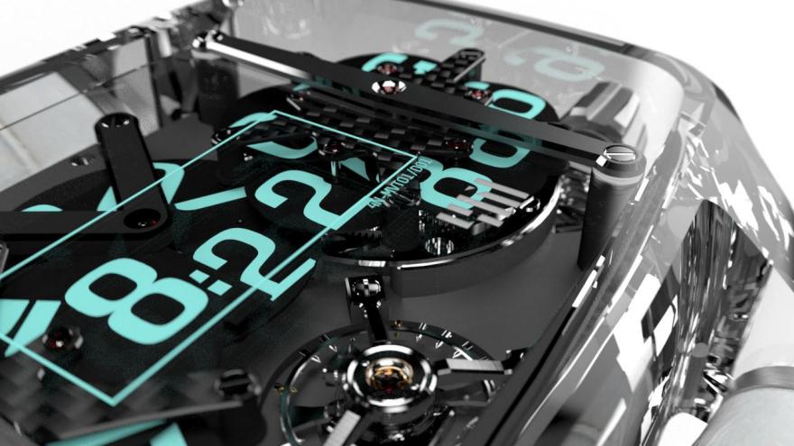 4N's Crazy Mechanical Digital Watch