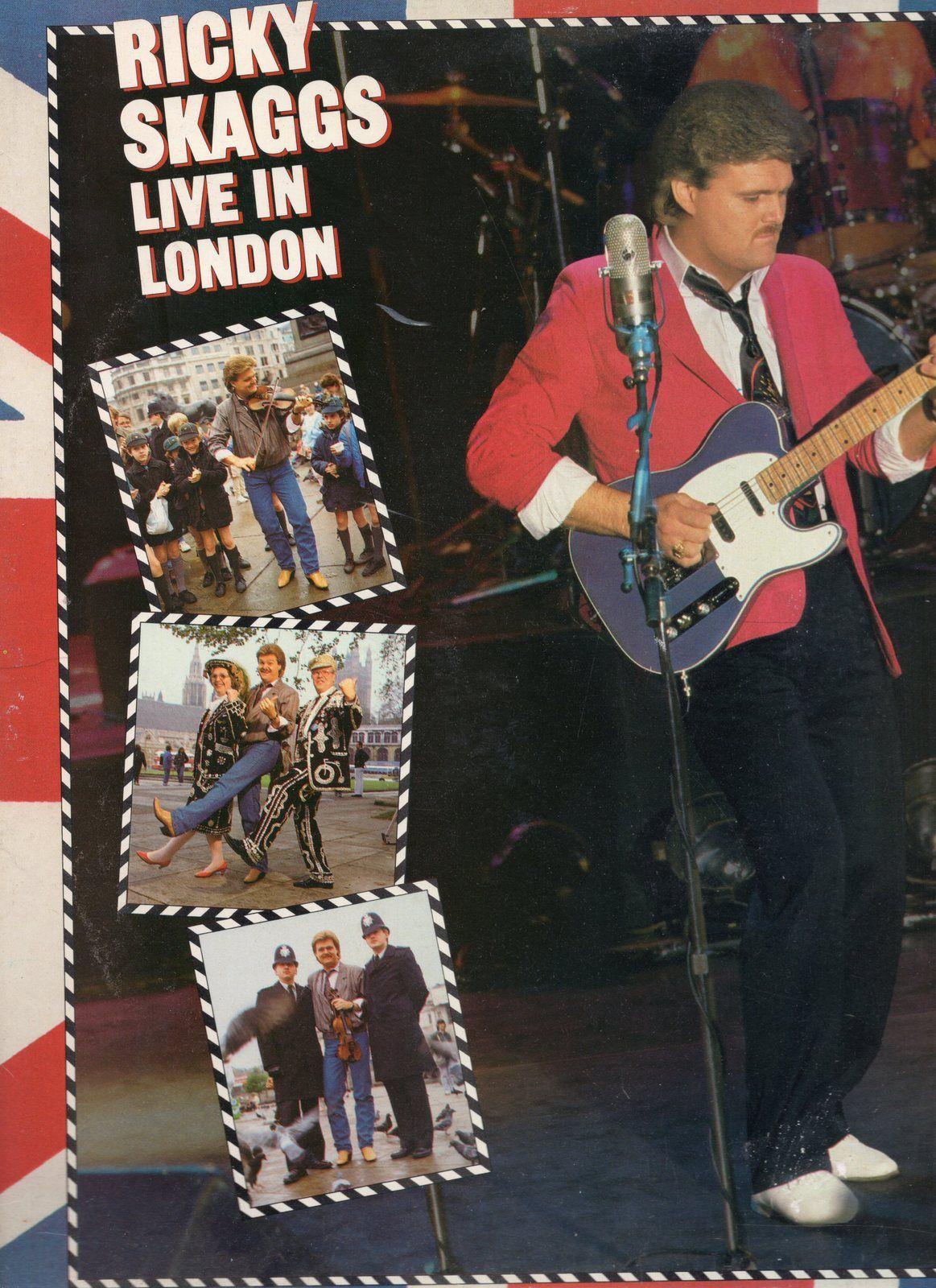Ricky Skaggs LP Live in London in 2020 London, Vinyl