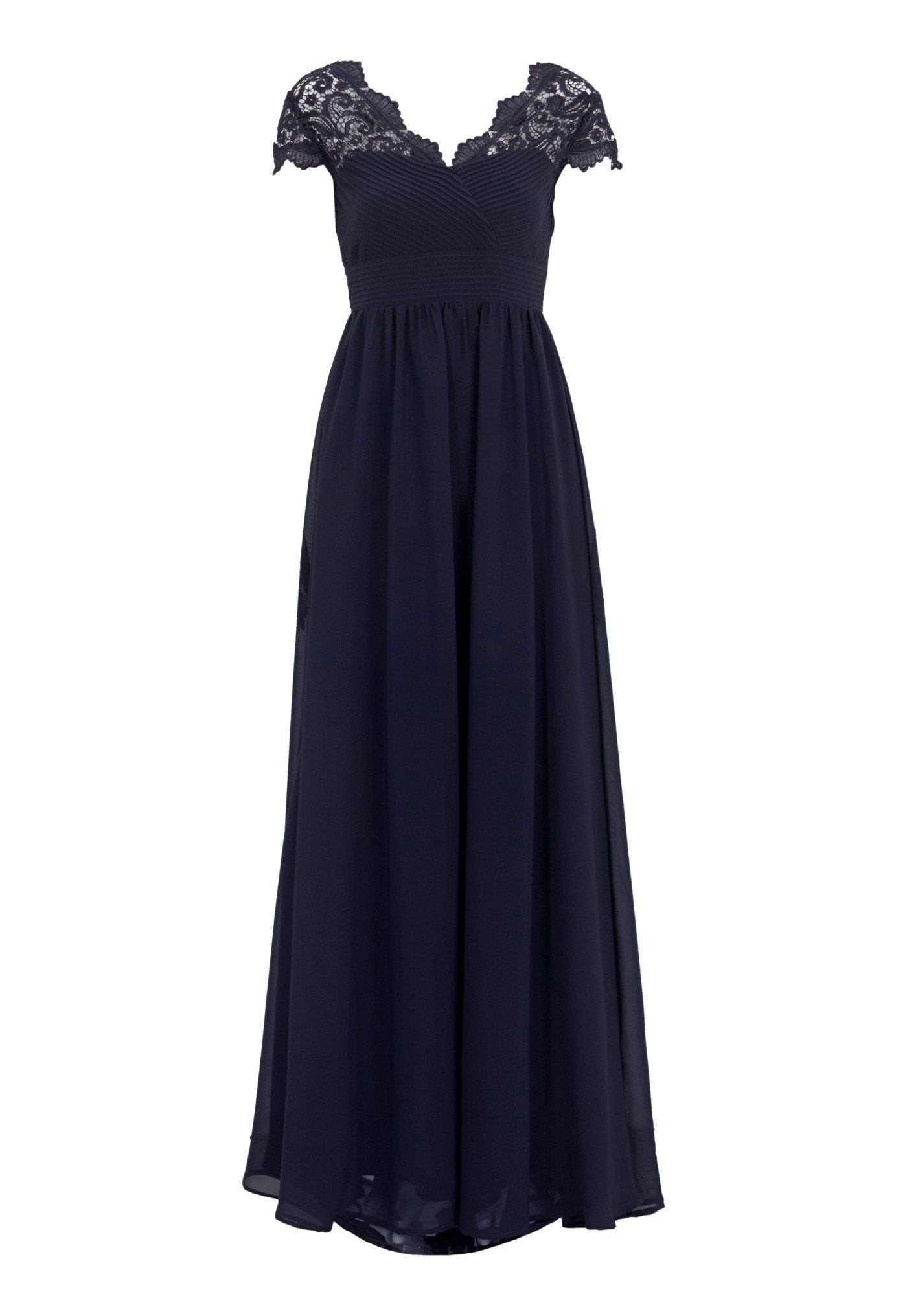 33279c7adfa8 Chiara Forthi Leighann Gown Dark blue - Bubbleroom