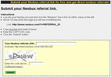 Give You Free Traffic To Make Free Direct Neobux Referrals Referrals Traffic Directions
