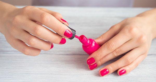 The Brilliantly Easy Way To Fix Clumpy Nail Polish Via Purewow Fix Nail Polish Old Nail Polish Dry Nail Polish