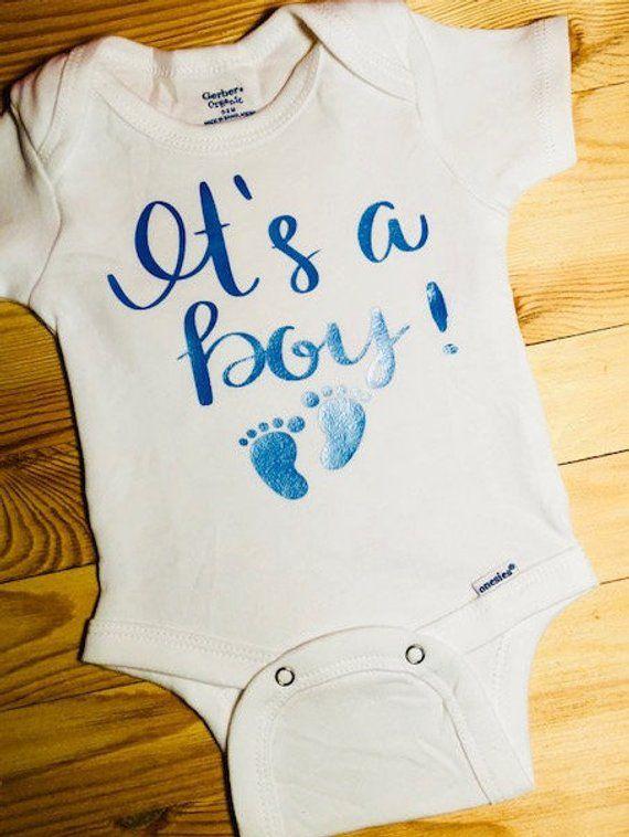 ed606bb69 It s a Boy ! - Gender Reveal Onesie in 2019