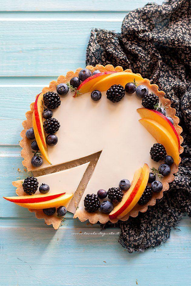 Photo of Crostata con panna cotta e frutta, la Ricetta facilissima!