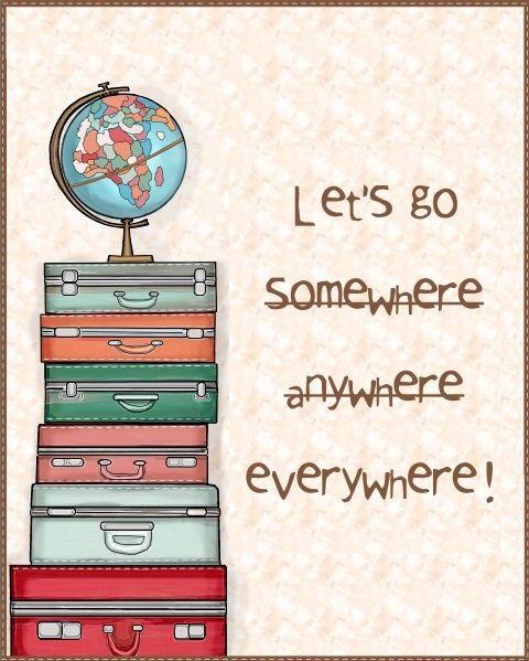 Everywhere.....