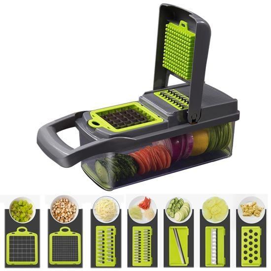 Vegetable Mandoline Slicer Shredder Chopper
