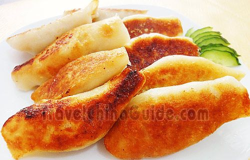 Pan fried dumplings completed eatbetter pinterest pan fried pan fried dumplings recipe teaches you how to cook adorable and yellowish pot stickers or guo tie at home which tastes crispy outside and fresh inside forumfinder Image collections