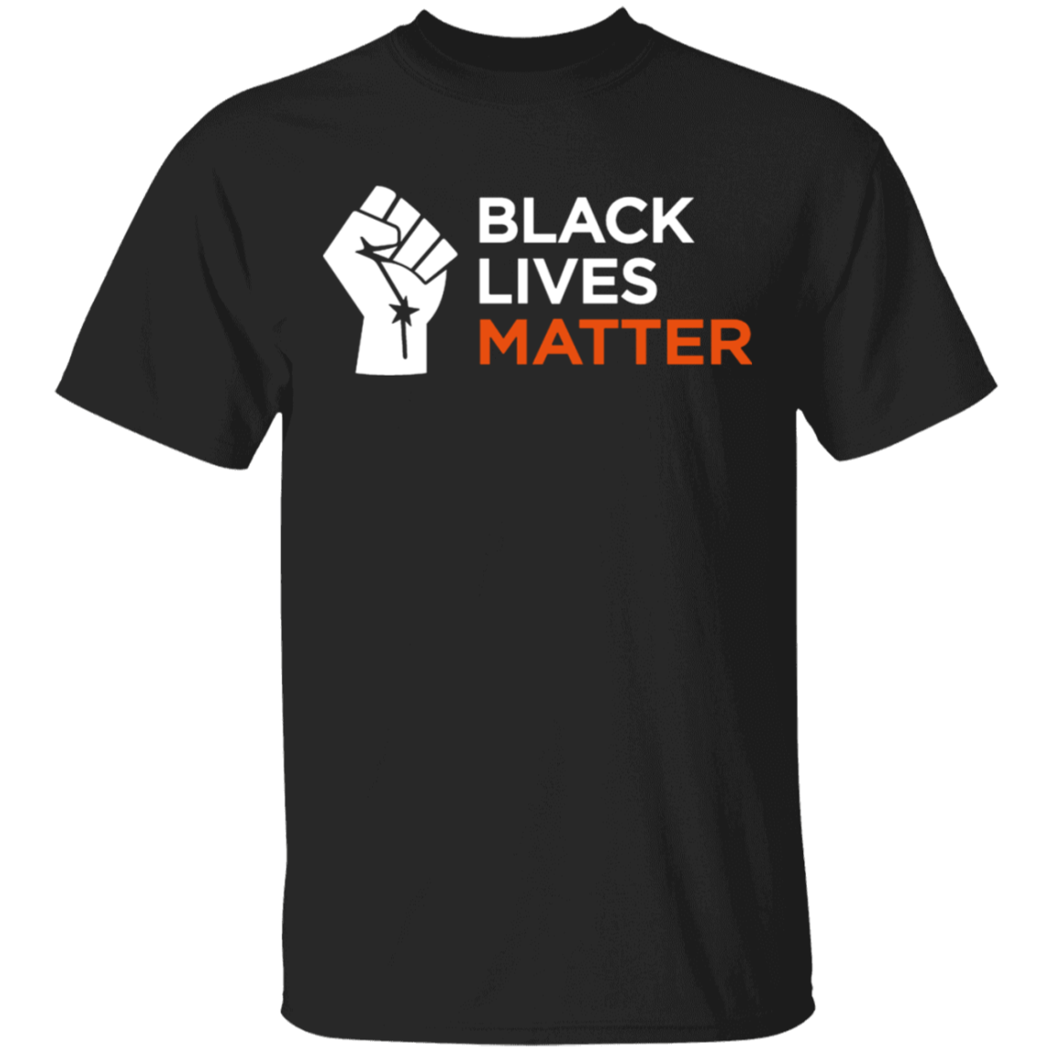 Black Lives Matter TShirt Blm Fist Shirt in 2020 Black