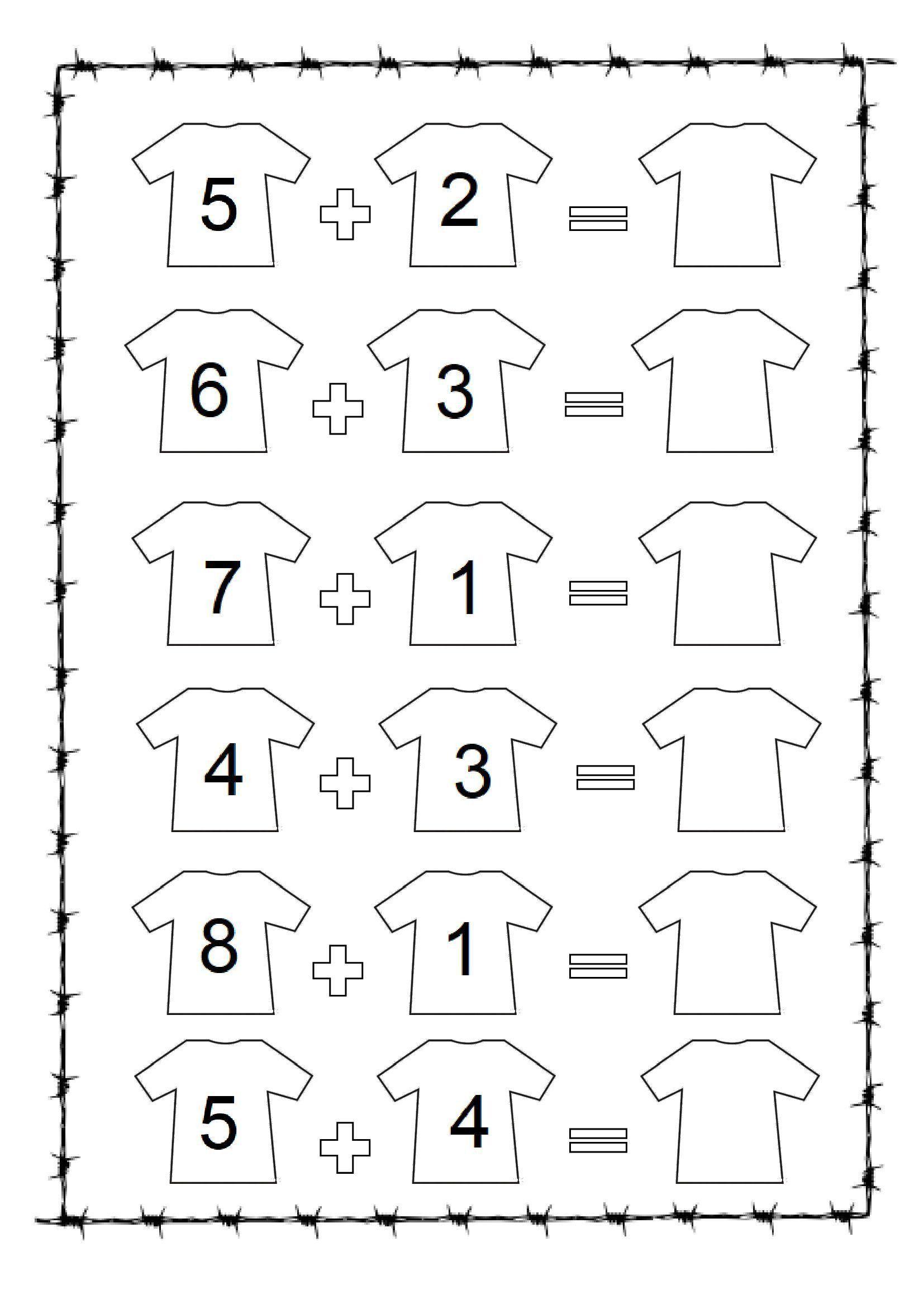 Preschool Math Worksheets Missing Number Workshe In