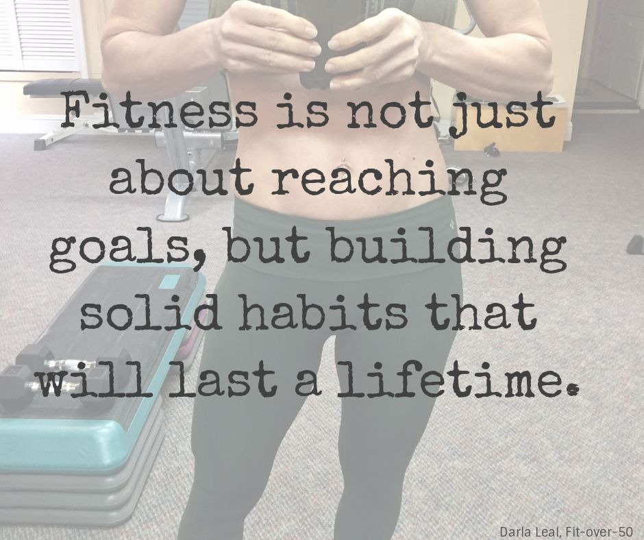 Fitness is a Process You Achieve One Day at a Time