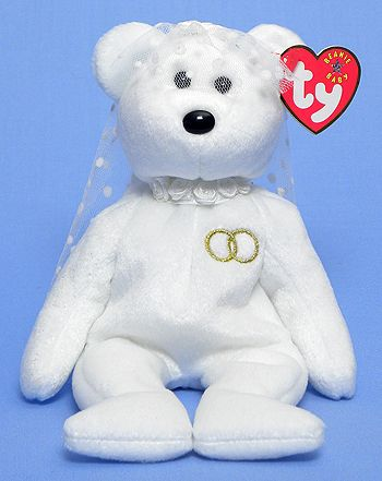 e685ce59034 Mrs. - Bear - Ty Beanie Babies ~The bear couple were at our wedding ...