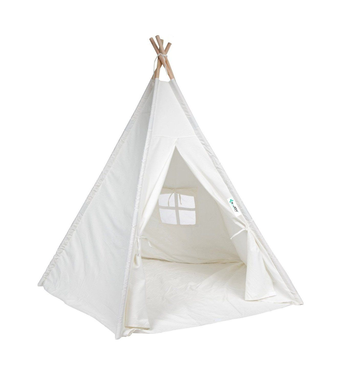 Amazon.com e-Joy 6u0027 Indoor Indian Playhouse Toy Teepee Play Tent  sc 1 st  Pinterest & Amazon.com: e-Joy 6u0027 Indoor Indian Playhouse Toy Teepee Play Tent ...