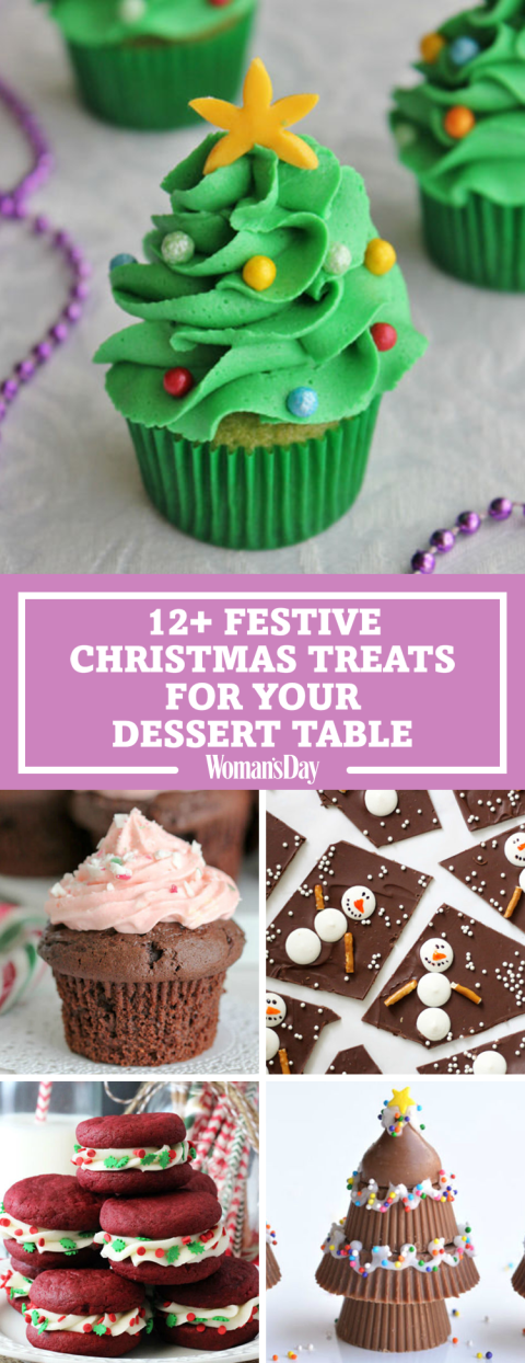 17 Festive Christmas Treats for Your Holiday Dessert Table is part of Christmas dessert Table - No holiday menu will be complete without a few of these scrumptious treats!