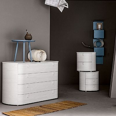 Sophisticated Minimalist Salinger Chests Of Drawers Rounded Corners Original And Elegant New Design My Italian Living