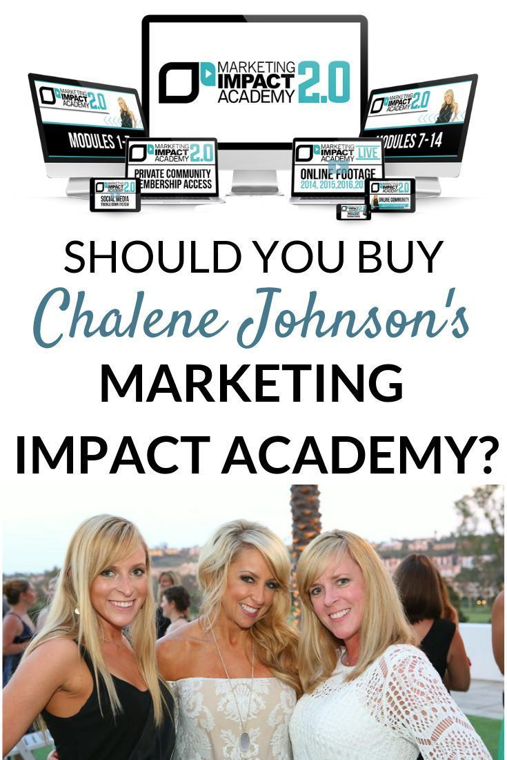 Chalene Johnson's Marketing Impact Academy Review 2019