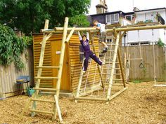 Kids Diy Monkey Bars | Backyard | Pinterest | Indoor Playhouse .