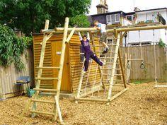 Kids Diy Monkey Bars | Backyard | Pinterest | Indoor Playhouse .