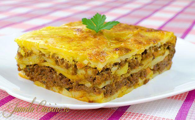 Musaca de cartofi reteta video recipe retete arta for Cucina romana piatti tipici