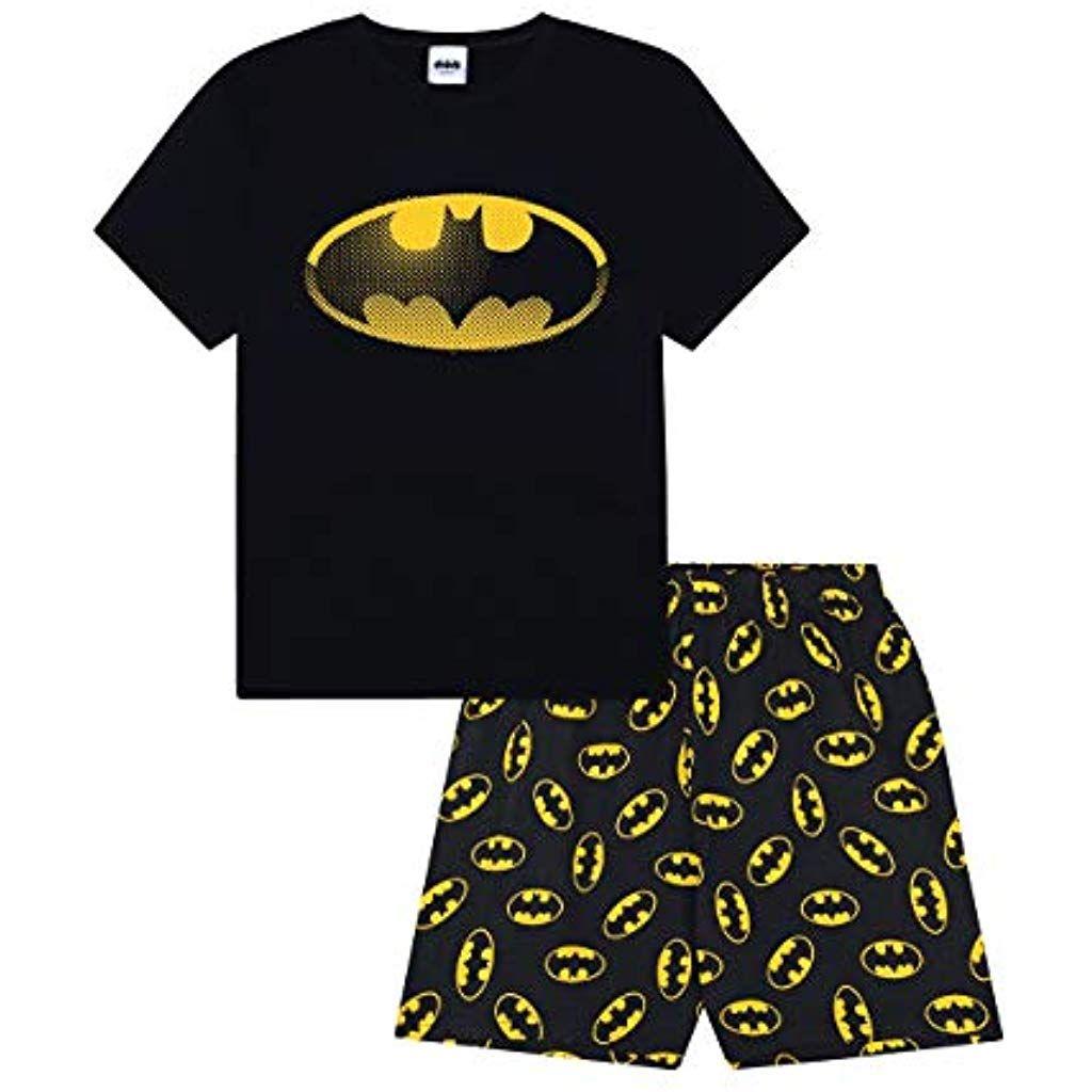 DC Comics Pantaloni di Pigiama per Uomo Justice League