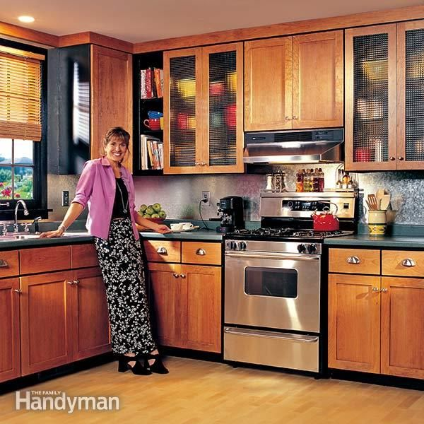Refinishing Oak Kitchen Cabinets Ideas: How To Refinish Kitchen Cabinets