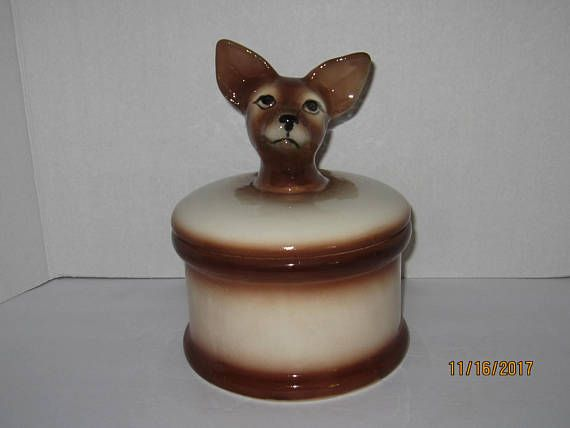Chihuahua Cookie Jar Custom Chihuahua Cookie Jar  Kitchenalia Et Le Restaurant Provisions Design Inspiration
