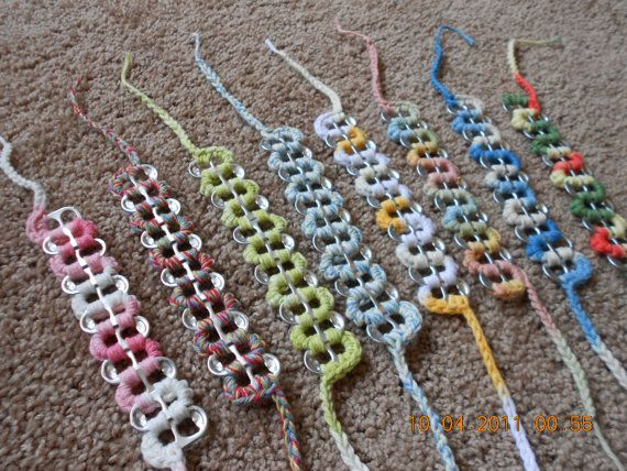 Crocheting With Pop Tabs : ... Pop Top Crochet on Pinterest Pop Tab Purse, Soda Tabs and Pop Tab