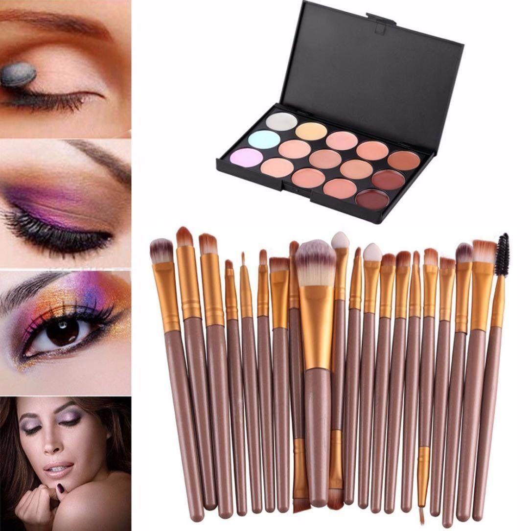 Creazy® 15 Colors Contour Face Cream Makeup Concealer