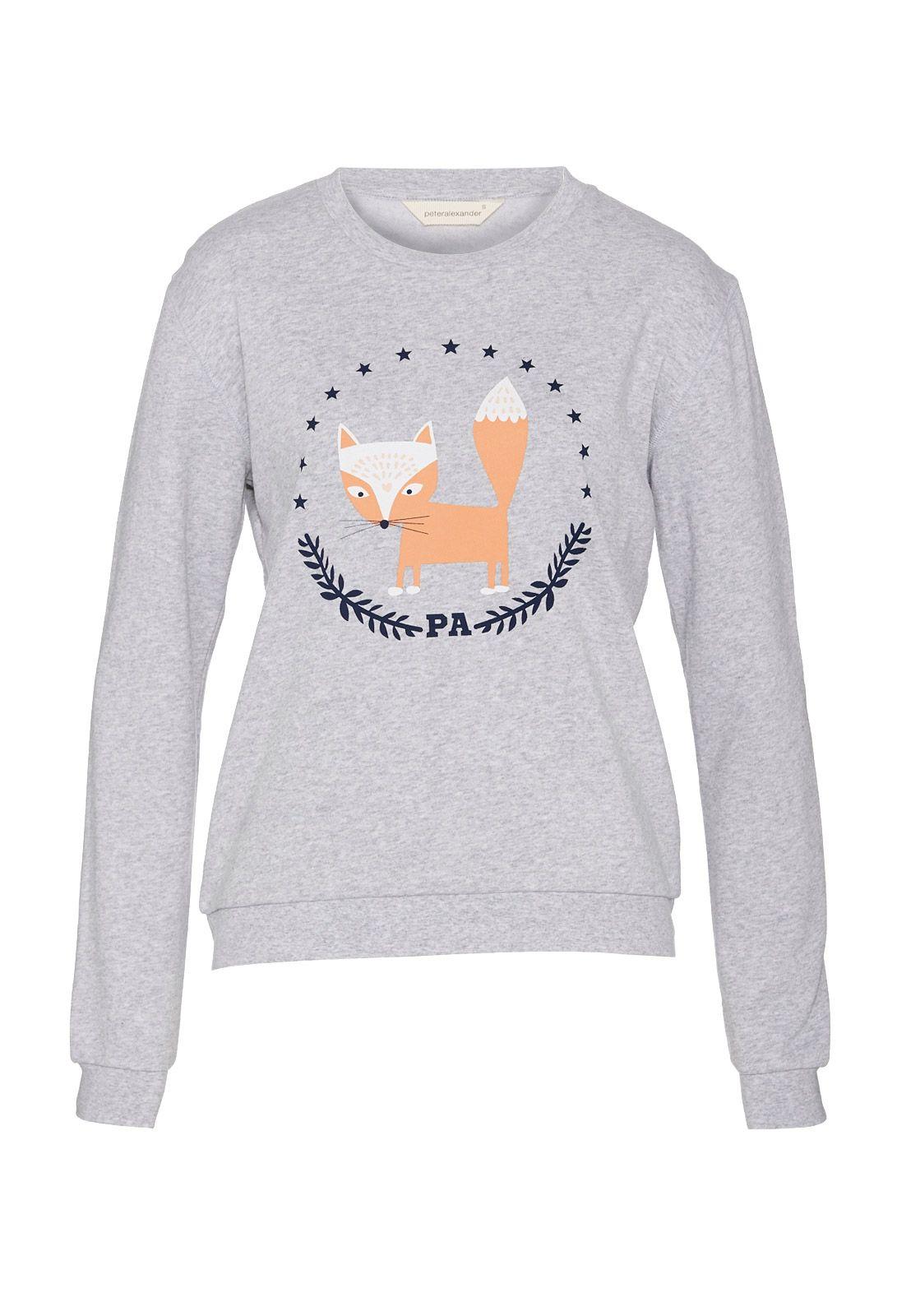 Foxy Star Sweater Peter Alexander Silk pajamas