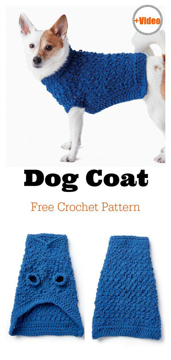 Dog Coat Free Crochet Pattern | Breien en haken