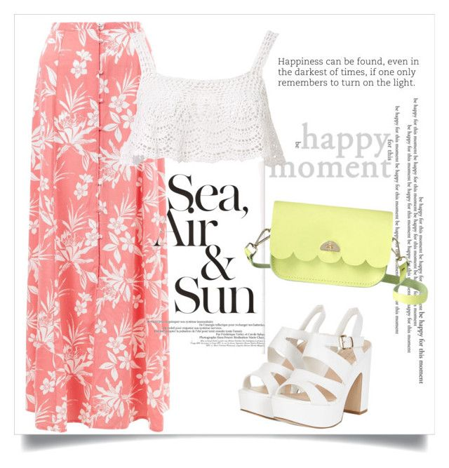 """""""Happy Moments"""" by fancy-chic ❤ liked on Polyvore featuring New Look, Beauty & The Beach and The Cambridge Satchel Company"""