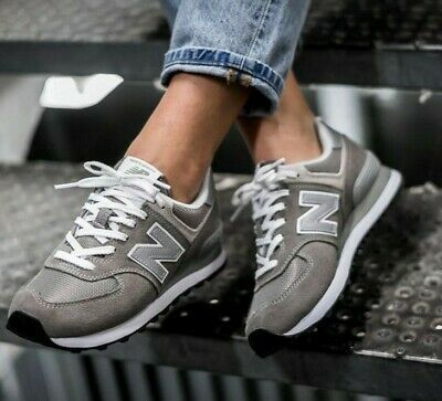 NEW IN THE BOX NEW BALANCE WL574EG GREY LIFESTYLE SHOES FOR WOMEN ...