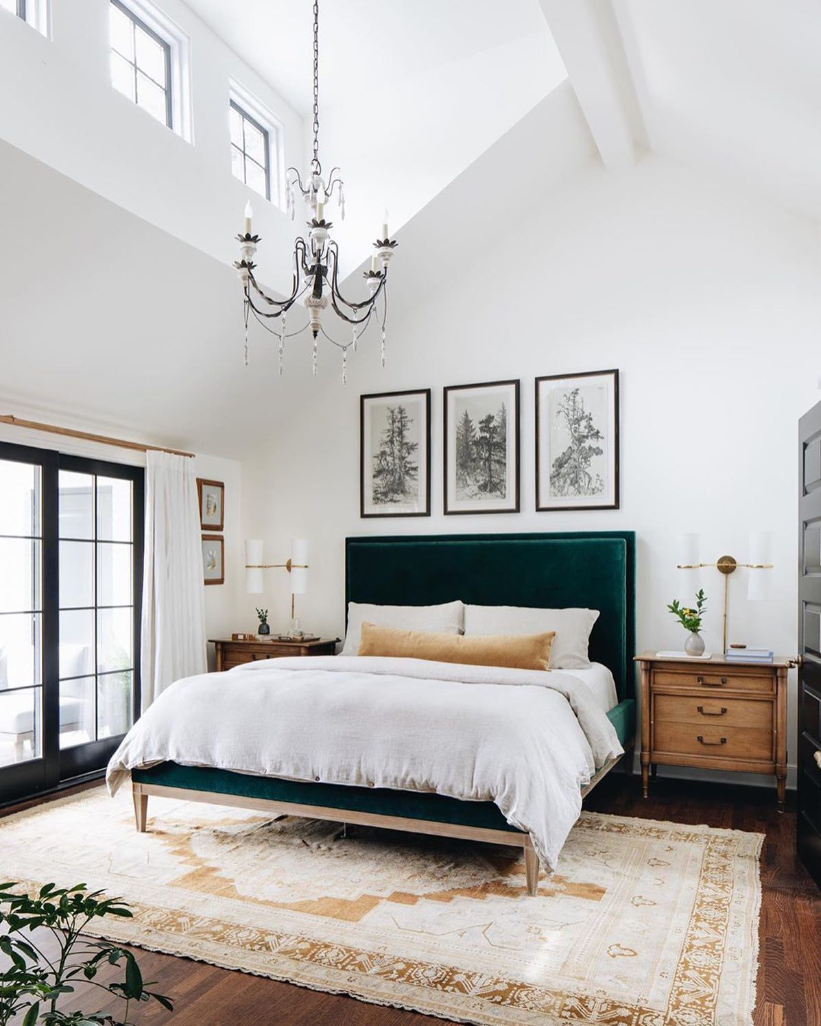 5 Easy Pieces - Room to Relax!  One Coast Design  Bedroom