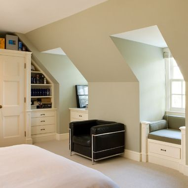 Bedroom With Dormers Design Ideas Amusing Builtin Dormer Storage Shelves Design Ideas Pictures Remodel Design Inspiration