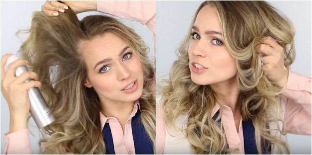 How To Get Loose Curls Without Going To The Salon Diy Hairstyles