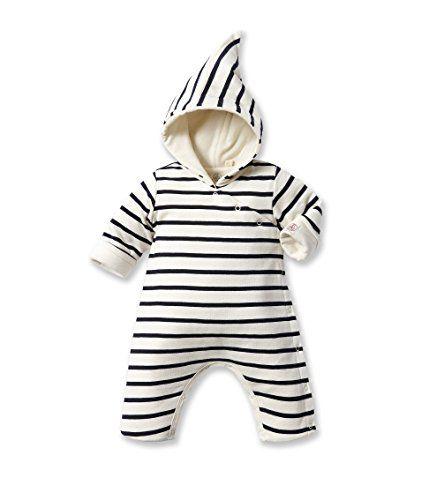 Petit Bateau Unisex Baby Strampler Combinais Longue