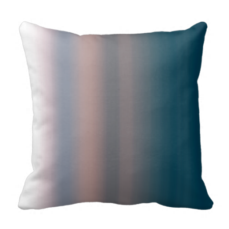 Watercolor Sky Pink and Blue #Ombre Background Throw #Zazzle #Pillows and #bedding