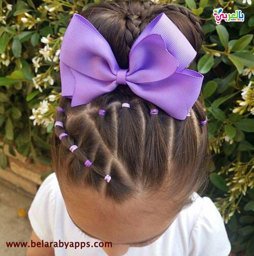 تسريحات اطفال سهلة ومميزة للمدرسة Baby Hairstyles Girl Hair Dos Mixed Kids Hairstyles
