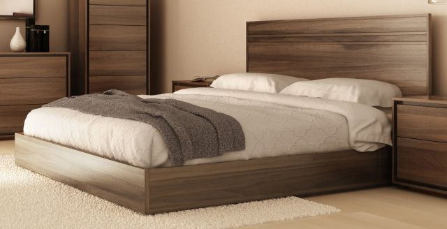 LOW-PROFILE KING PANEL BED WITH  BEDS  Furniture for every room