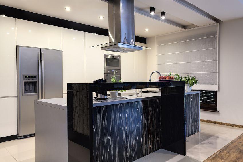 Bildergebnis für küche mit side by side kühlschrank | Küche | Pinterest