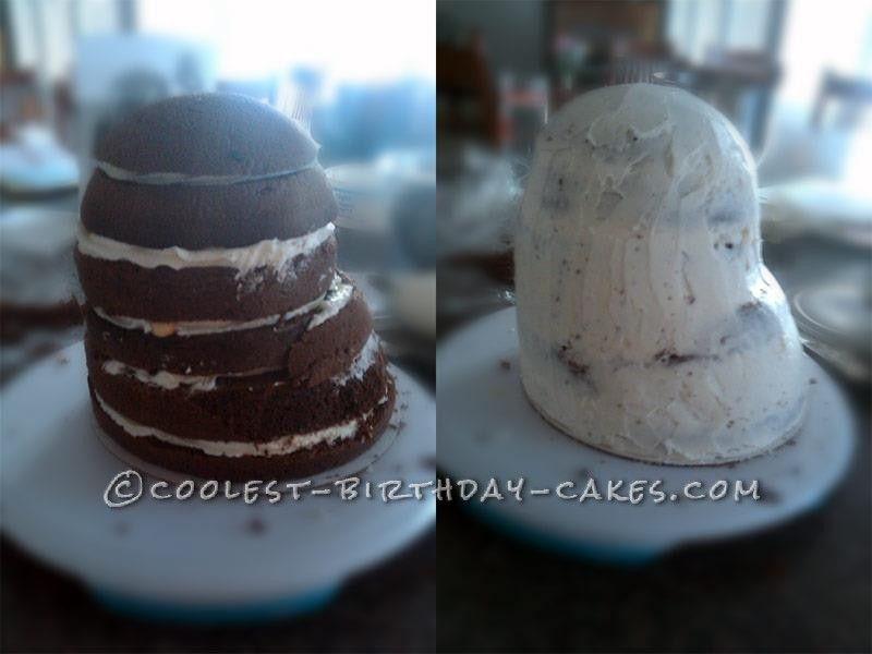 Coolest Darth Vader Helmet Cake Birthday cakes Cake and Birthdays