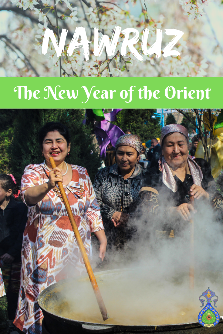 The Nawruz holiday to celebrate the New Year and the