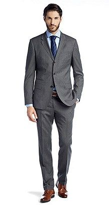 6d36ec888 Great 3 button suit from Hugo boss | Fashion in 2019 | 3 button suit ...