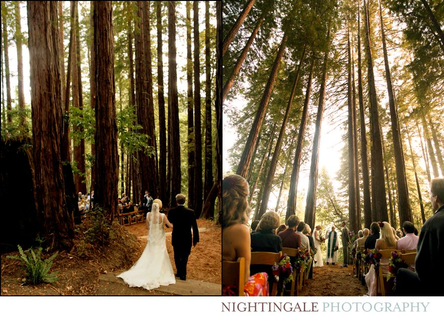 Style Me Pretty Features Nightingale Wedding At The Sequoia Retreat Center Photography S