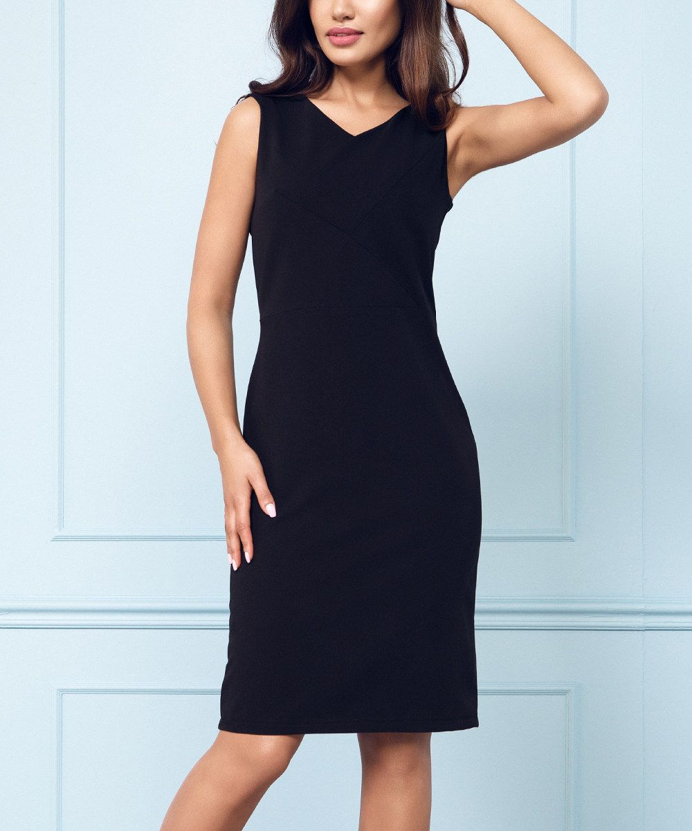 9f87c11e Look at this Rita Koss Black Sheath Dress on #zulily today!   Little ...