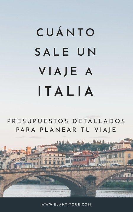 Cuánto sale un viaje a Italia