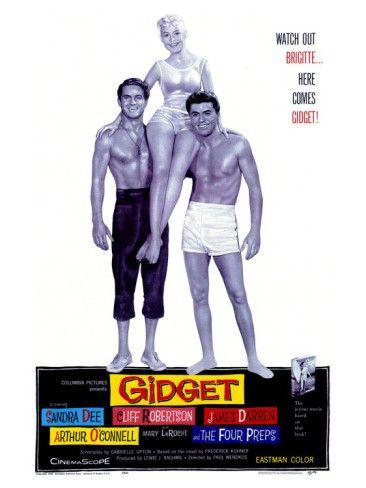 Gidget-Sandra Dee, James Darren and Cliff Robertson1959