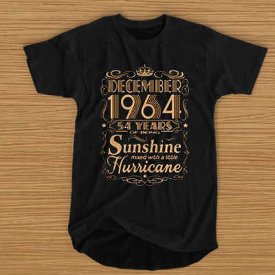 December 1964 54 Years Of Being Sunshine Mixed With A Little Hurricane T Shirt Aestheticsuicide Com In 2020 Lego T Shirt T Shirt Shirts